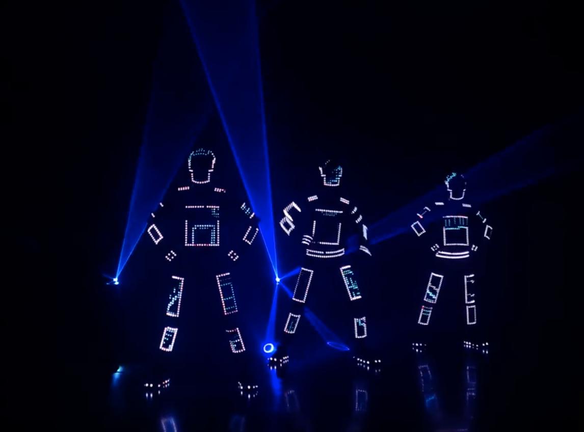 LED Light Dancers For Events