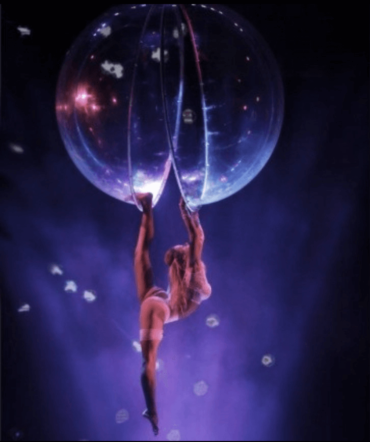 Perspex Ball Acrobatic Show