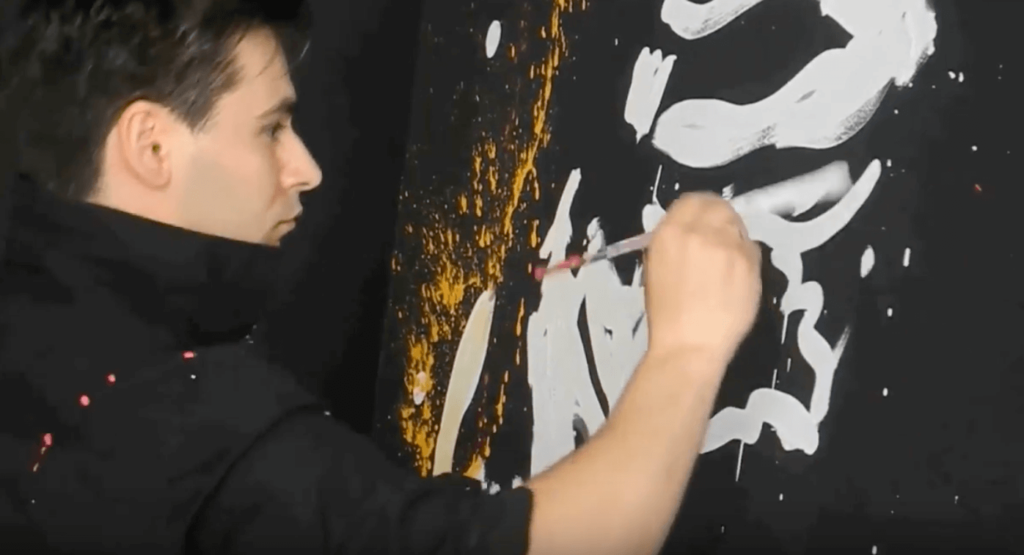 Speed Painting Performer for Corporate Events
