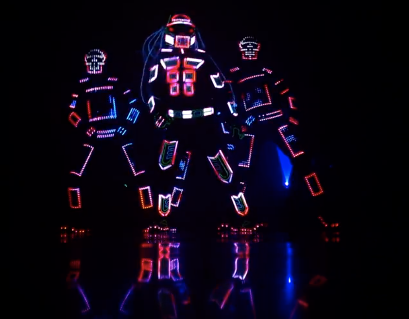 TOP LED light Dance Performers