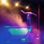 Water Based Acrobat Entertainment