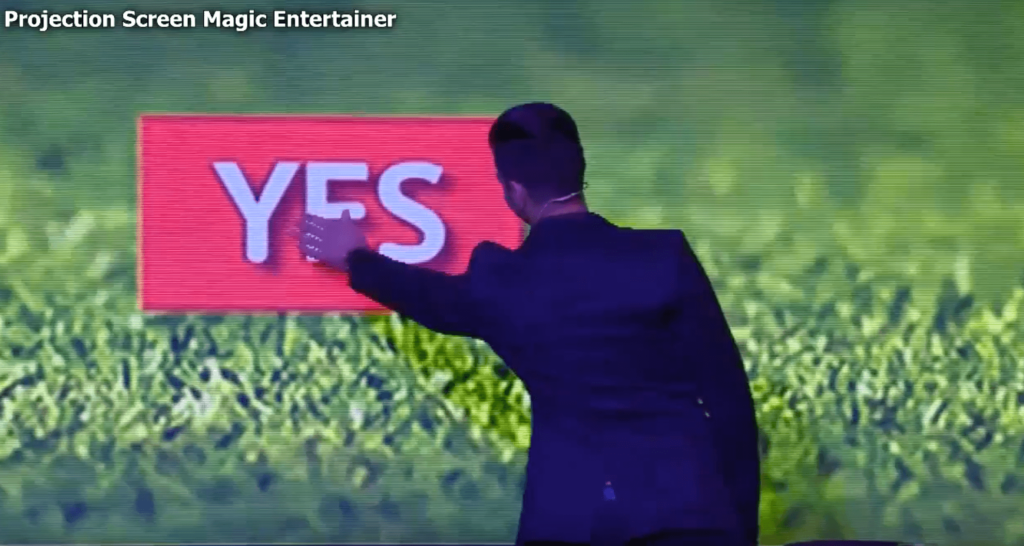 LED Screen Event Entertainer Magician