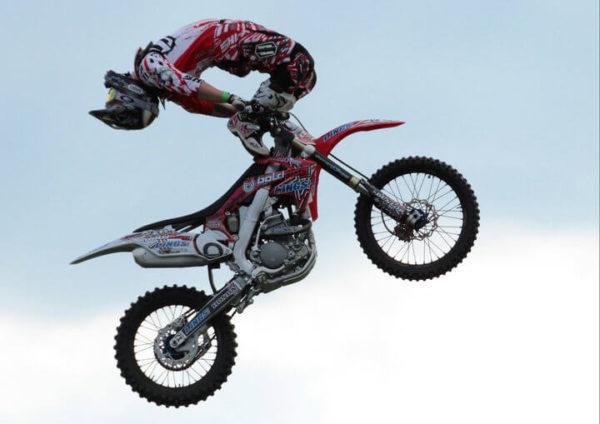 Motor bike Stunt Showman
