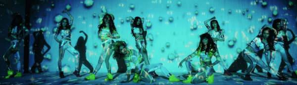 4D Projection Mapping Dance