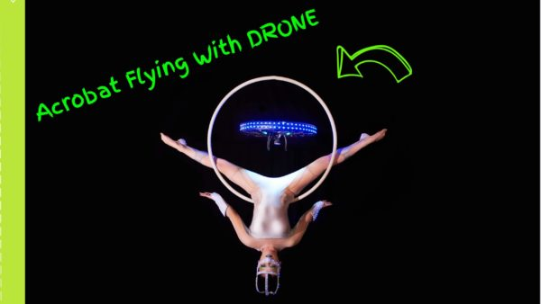 Acrobatic Show Flying with a Drone