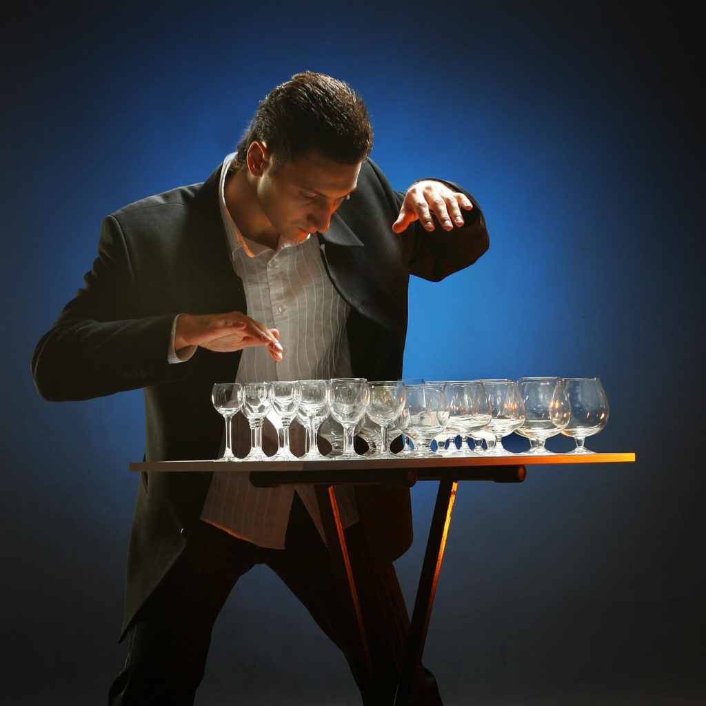 Specialist Wine Glass Musician For Events