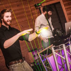 Laser Harp Entertainment