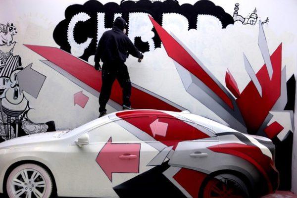 Sales Office Graffiti Designers