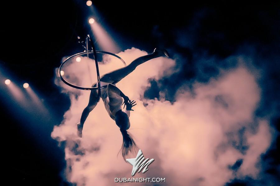 Acrobatic act for Expo 2020 Dubai