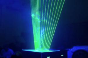 Launch Events Car laser show
