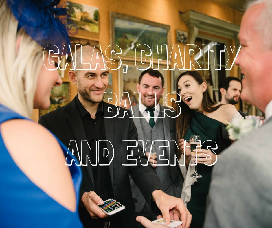 Digital magic for galas, charity and corporate events
