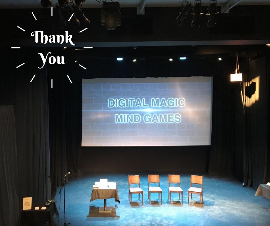 Digital magic entertainment for Events
