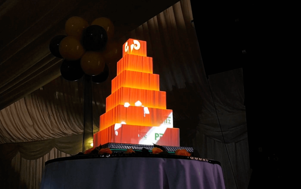 Projection MAPPING for company events