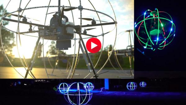 Custom designed DRONE Show