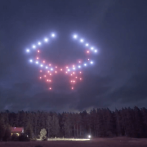 Drone dance mapping for Launch events