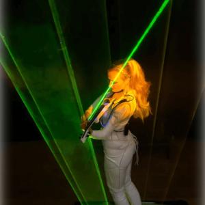 Performer Violin Laser