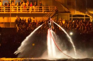 Extreme water entertainment for events