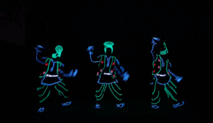 LED Dance Entertainers For Cultural Events