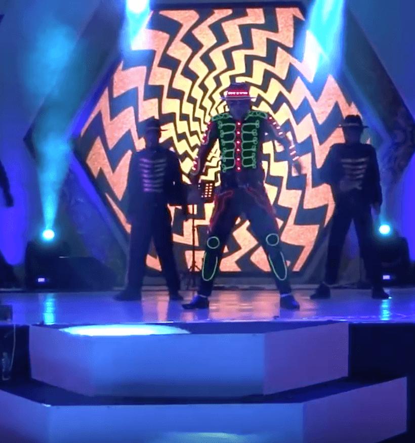 Michael Jackson LED light Dance Entertainment