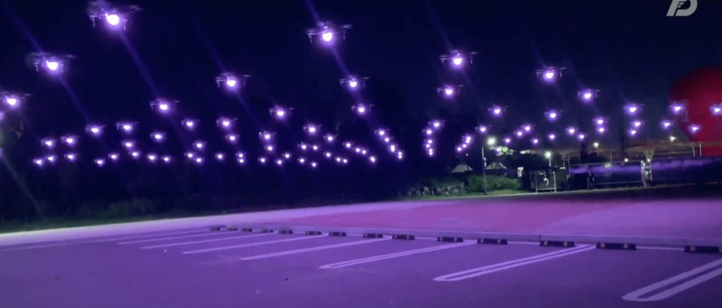 LED light Drone FLASHING Entertainment for Events