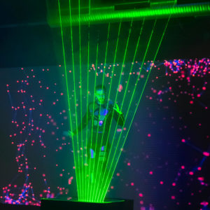 LED light laserman