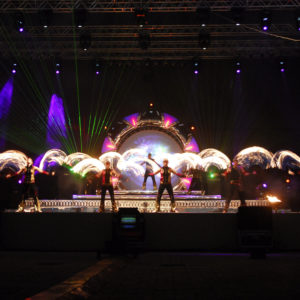 LED light tech EVENT Show for events
