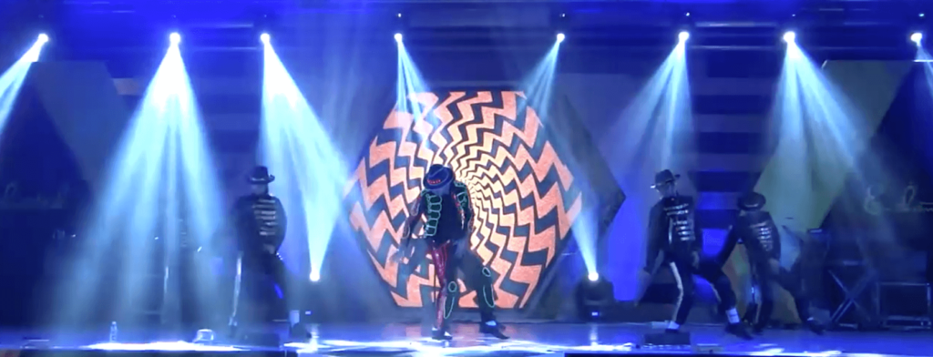 Michael Jackson LED light Dancers