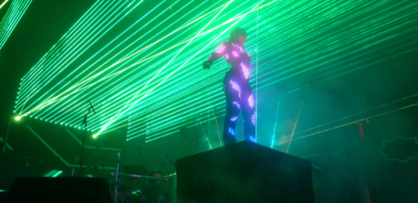 Special Female Laser Light Entertainer for Events