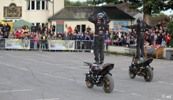Street Bike Duo Stunt Show