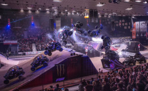 Hire a STUNT Show TOUR for ARENA Events