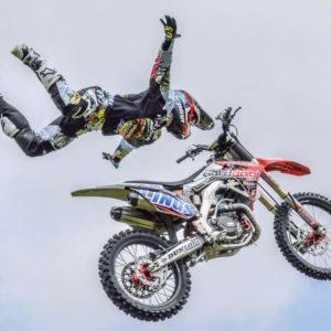 BIKE stunt performers