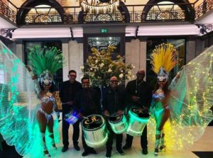 LED light Brazilian themed Entertainment