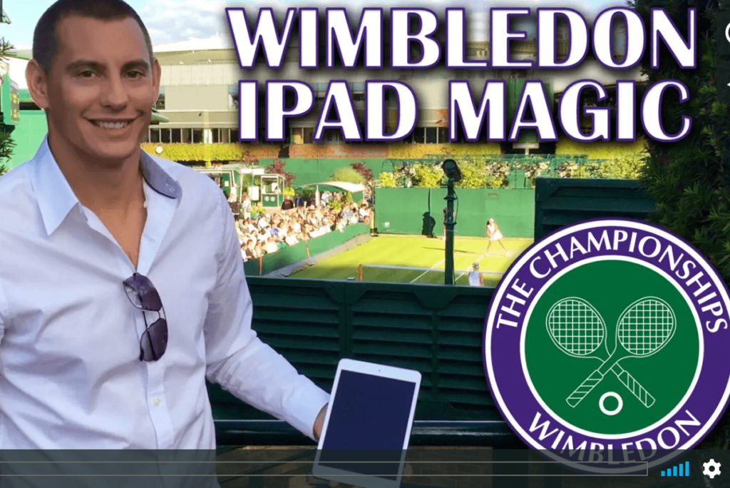 iPad TABLET magician for your EVENTS