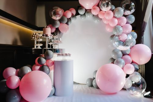 Balloon decorations for AWARD ceremony EVENTS