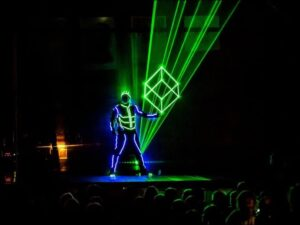 Supplier of Drone Laser Event shows