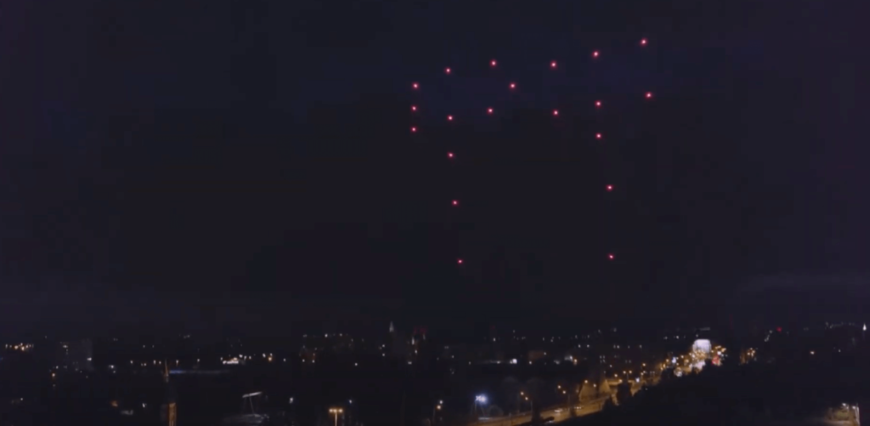 DRONE production entertainment for events In Saudi Arabia