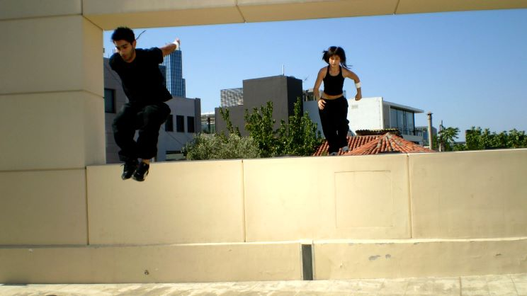 Female Freerunners for live promotion events