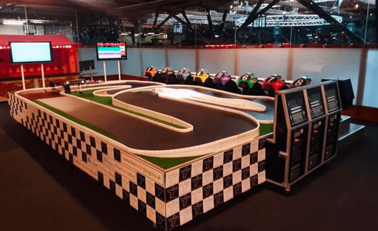 Interactive activity ENTERTAINMENT for F1 events
