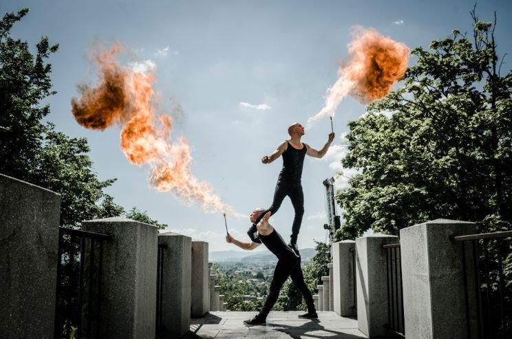 Touring stunt entertainment IDEAS