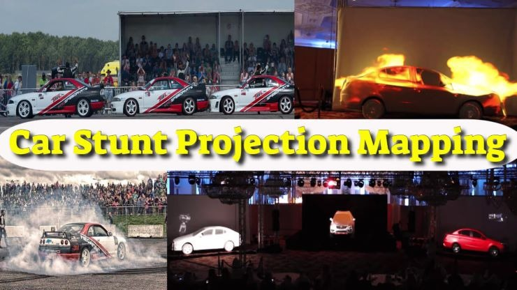 Car Stunt shows for events in ITALY
