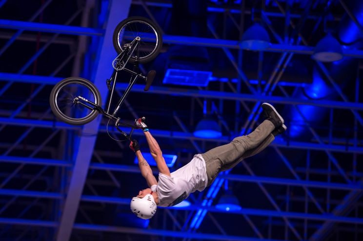 EXTREME stunt show entertainment for EVENTS in QATAR