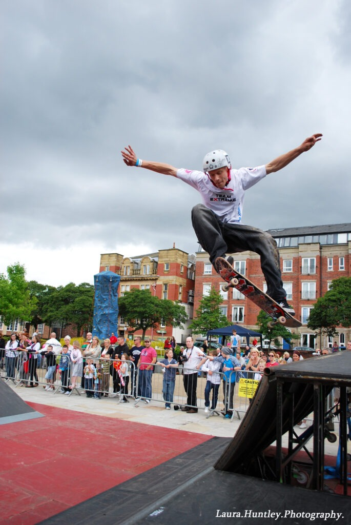 Skateboard stunt show SPECIALISTS for events in Middle East