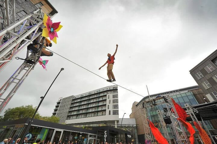 Stunt Show entertainment for events in FRANCE