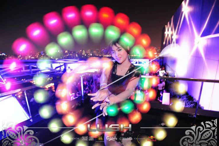 LED light event entertainment in Monaco
